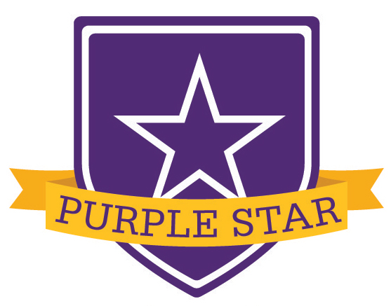 CES Named Purple Star School